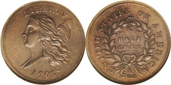 Liberty Cap Half Cent